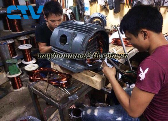 Bảo dưỡng, sửa chữa máy bơm nước công nghiệp tại Hà Nội