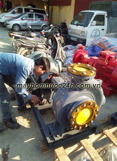 Chuyên sửa máy bơm đầu rời Ebara công suất lớn