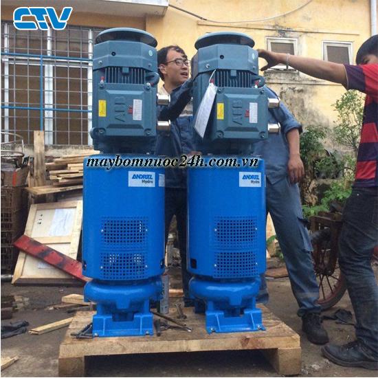Máy bơm nước công suất lớn phục vụ cho công nghiệp giá rẻ tại Hà Nội