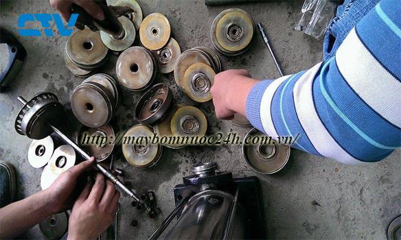 Phân loại bánh xe công tác trong máy bơm nước
