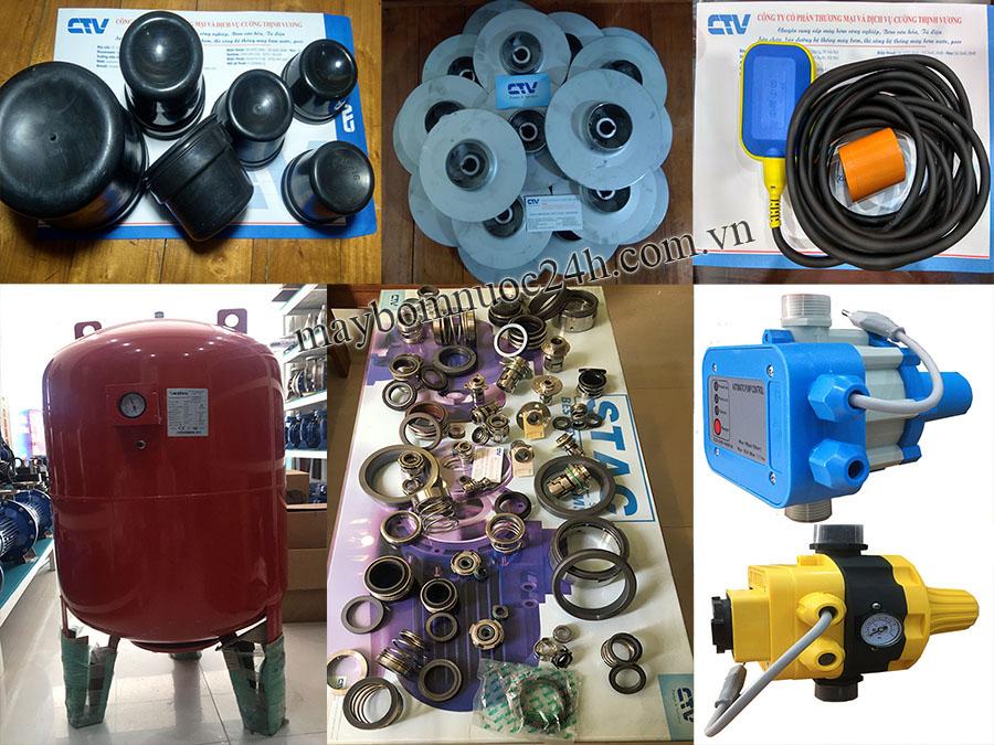 Nơi cung cấp phụ kiện máy bơm nước uy tín, chính hãng, giá rẻ trên Toàn Quốc