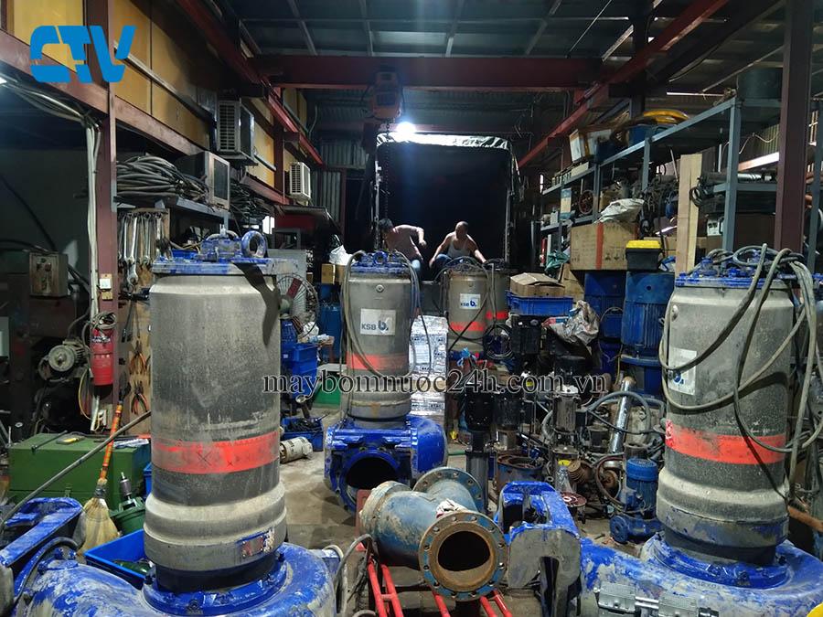 Bảo dưỡng, sửa chữa máy bơm nước công nghiệp uy tín chuyên nghiệp