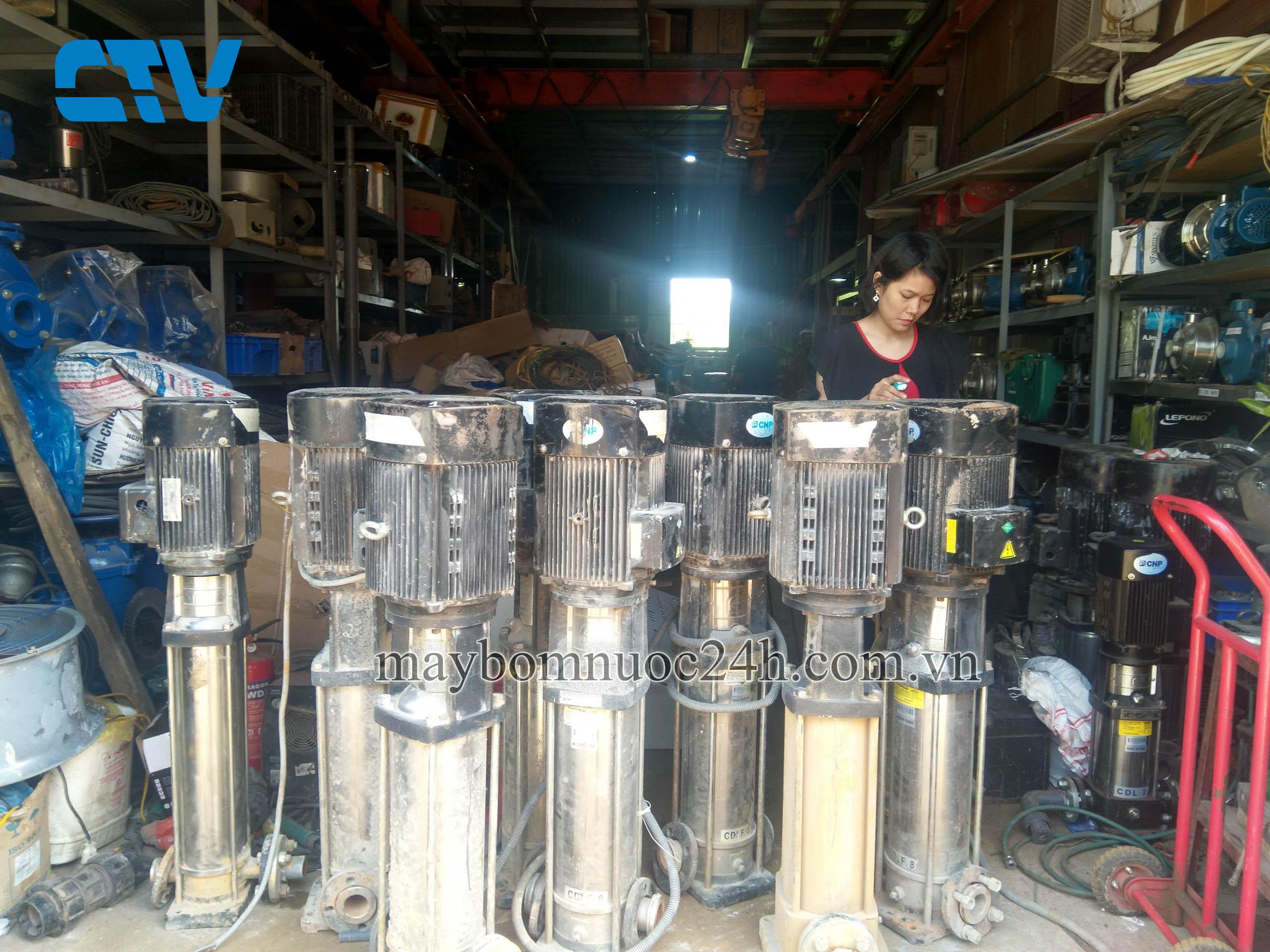 Bảo dưỡng, sửa chữa máy bơm trục đứng